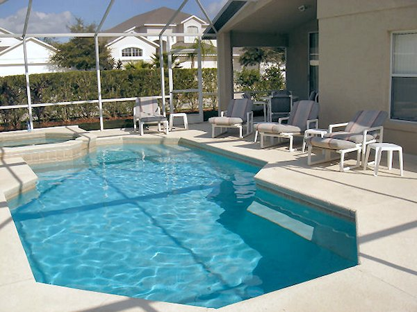 4 Bed Florida Villa sleeps 8. Private Pool/Spa. Wi-Fi.