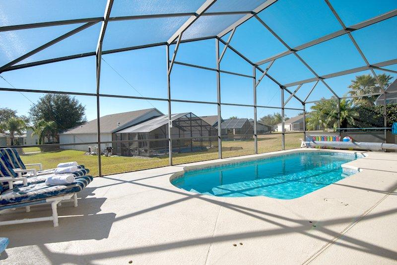 Villa Pool Area