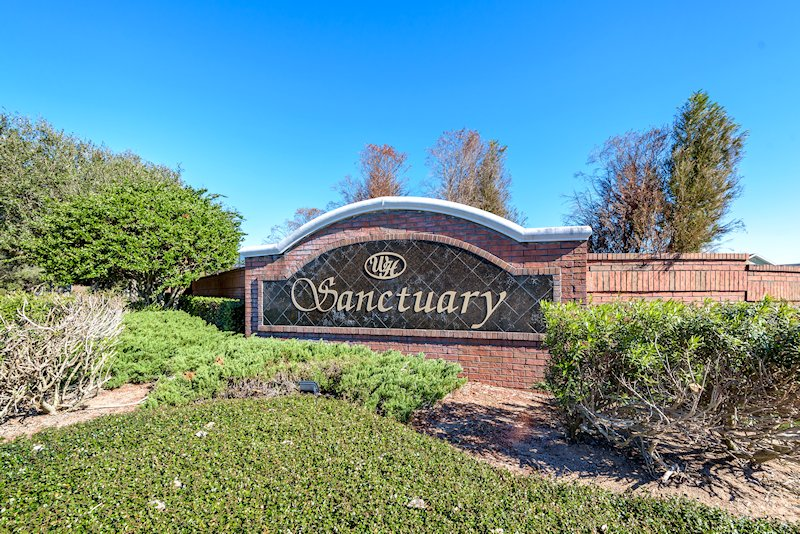 The Sanctuary Entrance Sign