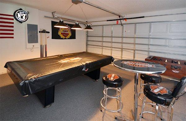 Harley Games Room
