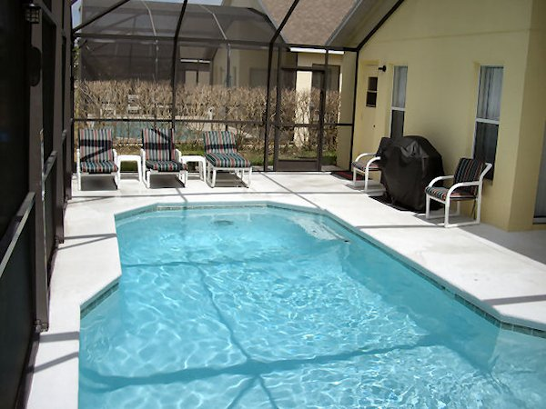 Pool Area and bbq