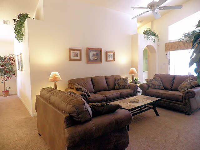"""Family Room with 42"""" HDTV"""