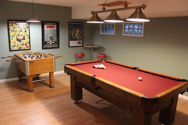 AIR CONDITIONED GAMES ROOM