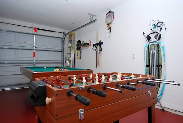 Junior pool table/foosball/table hockey