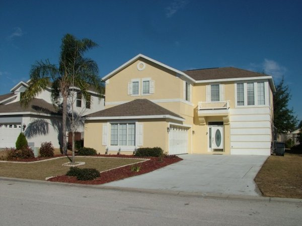 4 Bed Florida Villa sleeps 10. Private Pool/Spa. Wi-Fi. Games Room.