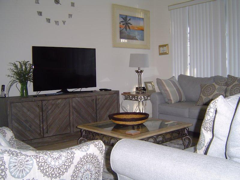 Cosy, modern family room