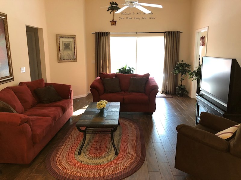 Open Concept Living / Dining Room for family gatherings