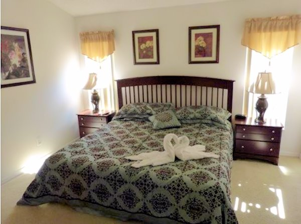Master Bedroom 2 with En Suite and Pool Access