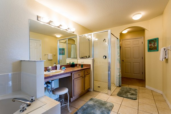 REAR MASTER EN SUITE WITH DISABLED ACCESSIBLE SHOWER