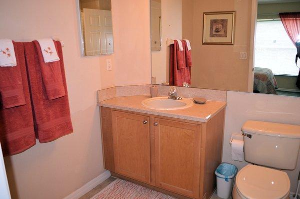Ensuite Bathroom with Queen Bedroom