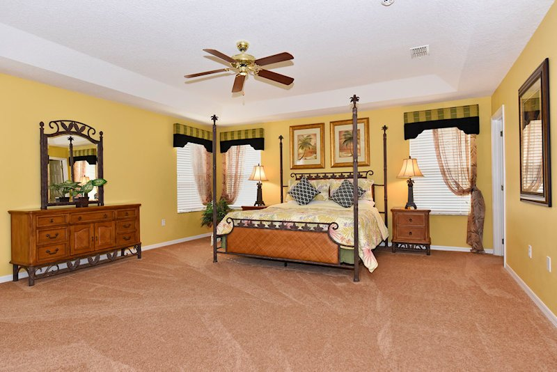 The Super King Bedroom with Master ensuite - 1st Floor