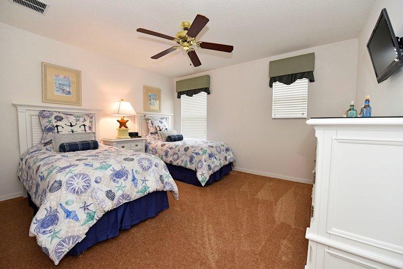 The ocean themed bedroom - 1st floor