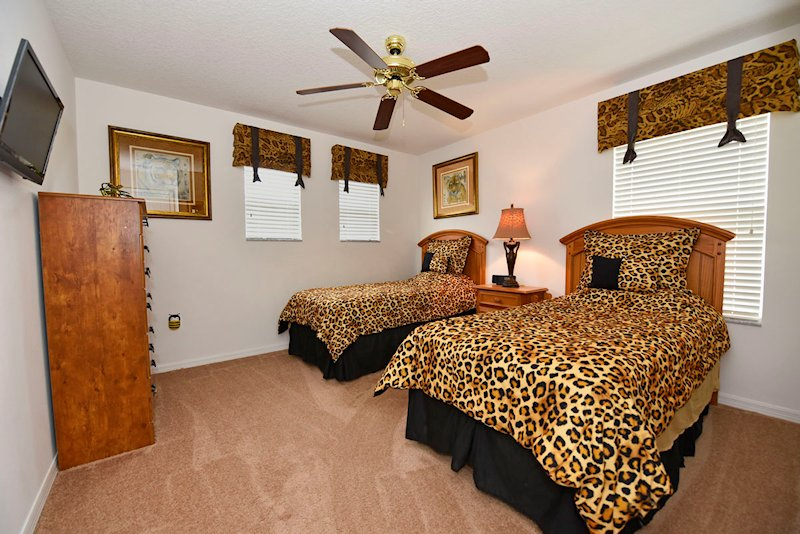 The animal themed bedroom - 1st floor