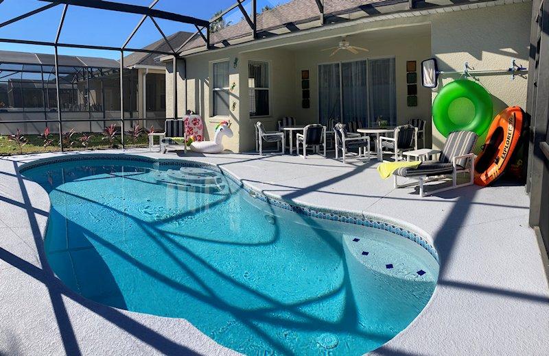 pool at night, Relax watch the stars enjoying  a quiet swim